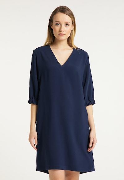 DreiMaster Klassik Kleid in marine, Modelansicht
