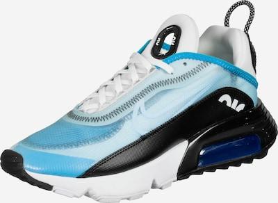 Nike Sportswear Sneaker 'Air Max 2090' in hellblau / schwarz / weiß, Produktansicht