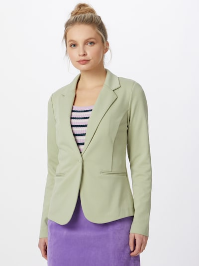ICHI Blazer in Pastel green, View model