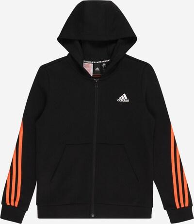 ADIDAS PERFORMANCE Sportsweatjacke in orange / schwarz, Produktansicht