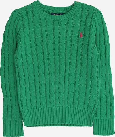 POLO RALPH LAUREN Pullover 'CABLE' in grasgrün, Produktansicht