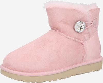 Botine 'Mini Bailey Button Bling' UGG pe roz, Vizualizare produs