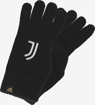 ADIDAS PERFORMANCE Sporthandschuhe 'Juventus Turin' in schwarz / weiß, Produktansicht