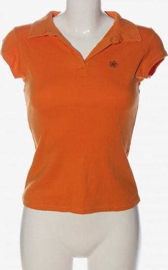 ZARA Polo-Shirt in M in hellorange, Produktansicht