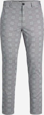 Pantalon chino JACK & JONES en gris