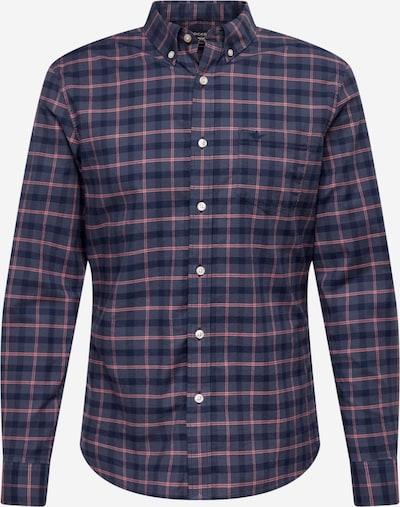 Dockers Overhemd in de kleur Duifblauw / Donkerblauw / Pink, Productweergave