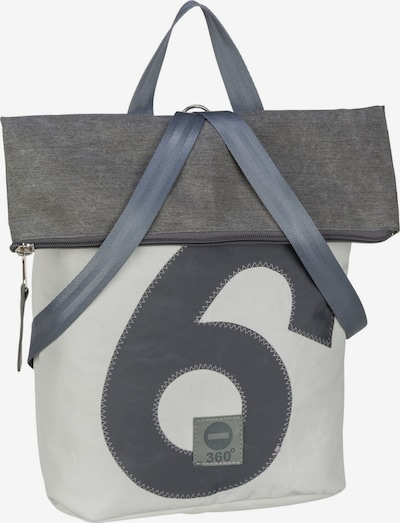 360 Grad Rucksack / Daypack ' Möwe ' in graphit / hellgrau, Produktansicht
