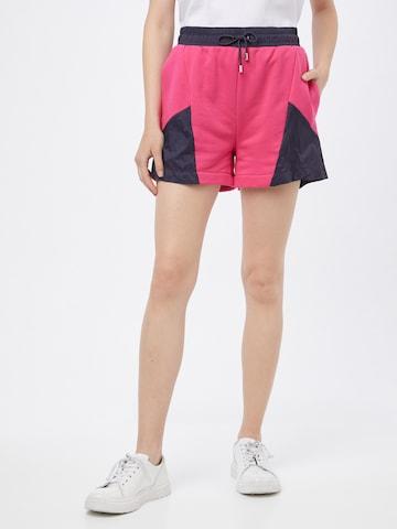 HUGO Shorts 'Nisumi' i rosa
