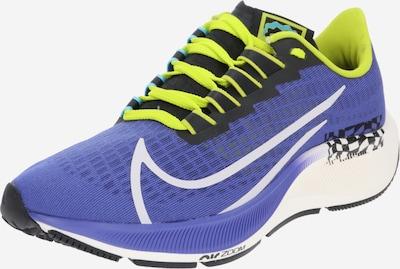 NIKE Chaussure de sport 'Air Zoom Pegasus 37 A.I.R. Chaz Bundick' en vert fluo / violet / blanc, Vue avec produit