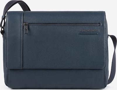 Piquadro Schoudertas in de kleur Blauw, Productweergave
