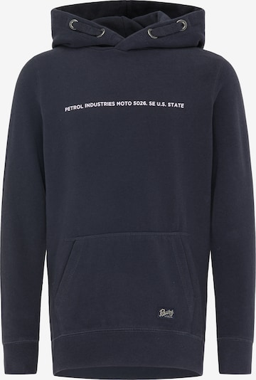 Petrol Industries Sweatshirt in anthrazit / weiß, Produktansicht