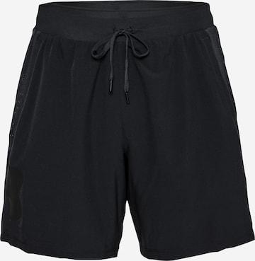 Pantalon de sport UNDER ARMOUR en noir