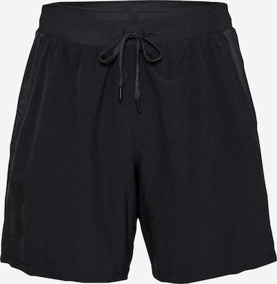 UNDER ARMOUR Sportshorts 'Qualifier Speedpocket 7' in schwarz, Produktansicht