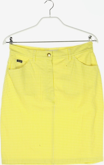 Escada Margaretha Ley Skirt in XL in Yellow / Off white, Item view