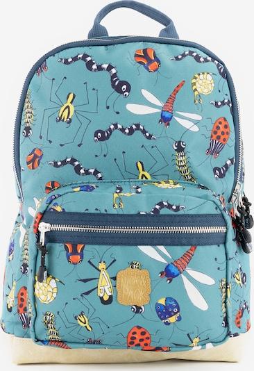 Pick & Pack Rucksack 'Insect' in petrol / mischfarben, Produktansicht