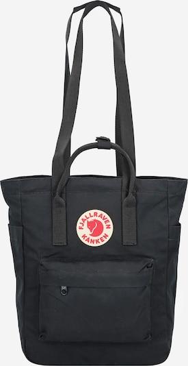 Fjällräven Rucksack 'Kanken' in rot / schwarz / weiß, Produktansicht
