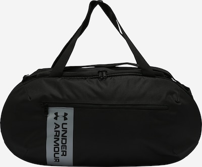 UNDER ARMOUR Sports bag 'Roland' in black / silver, Item view
