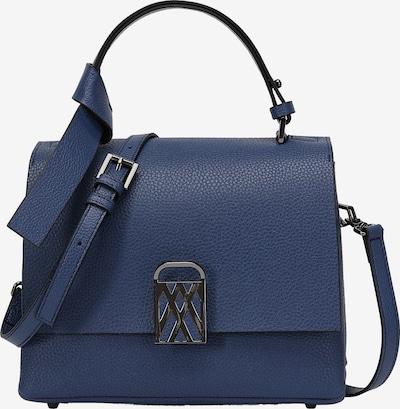 Ekonika Tasche mit körniger Struktur in blau, Produktansicht