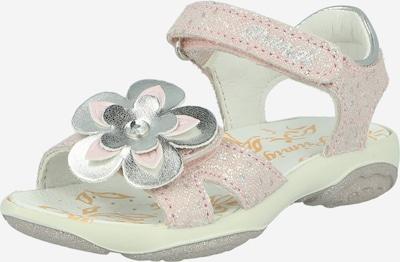 PRIMIGI Sandales en rose / argent, Vue avec produit
