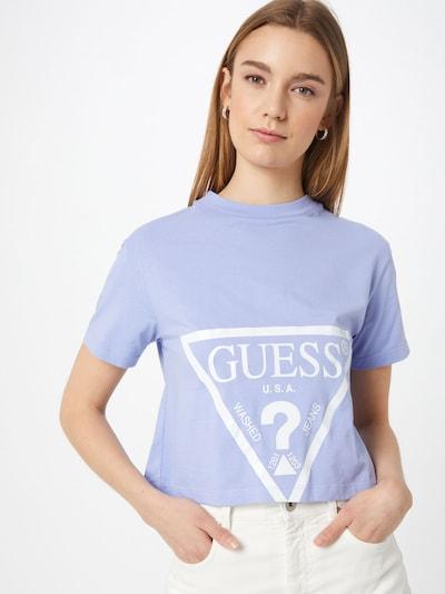 GUESS Majica 'ADELE'   majnica / bela barva: Frontalni pogled