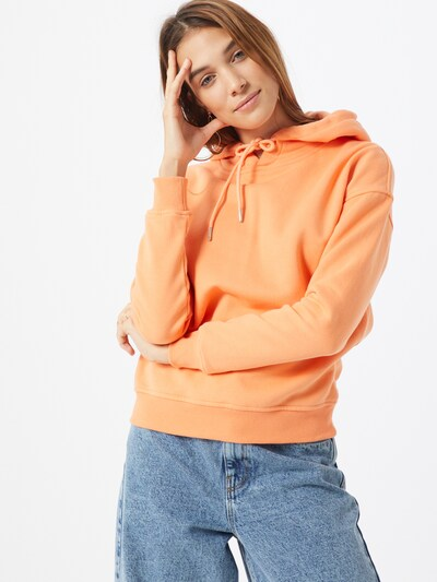 Urban Classics Curvy Sweatshirt in orange, Modelansicht