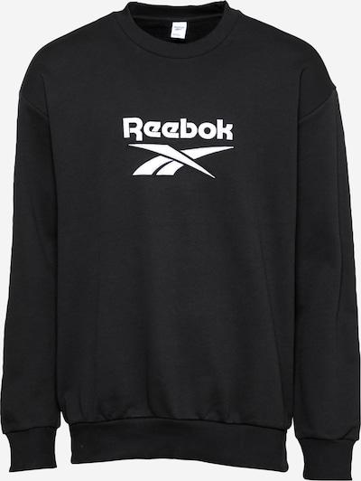Felpa Reebok Classic di colore nero / bianco, Visualizzazione prodotti
