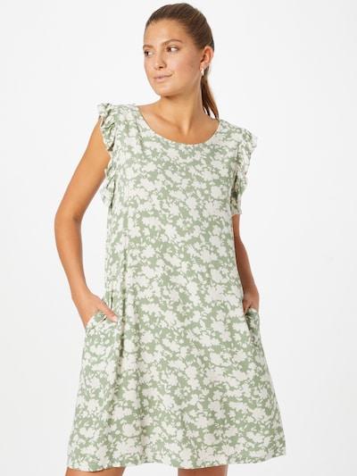 Rochie de vară 'Elsa' ZABAIONE pe verde pastel / alb, Vizualizare model