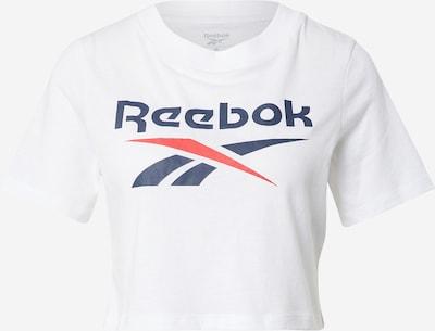 REEBOK T-Shirt in navy / rot / weiß, Produktansicht