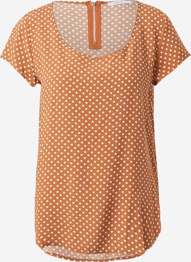 Hailys Μπλούζα 'Liane' σε πορτοκαλί / λευκό, Άποψη προϊόντος