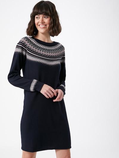 ESPRIT Kootud kleit meresinine / segavärvid, Modellivaade