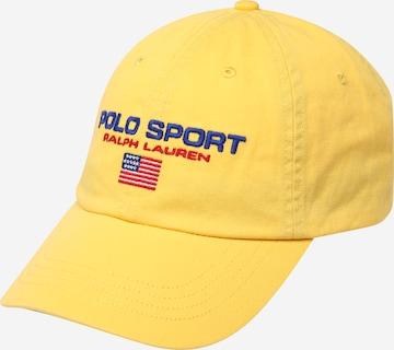 Casquette Polo Ralph Lauren en jaune