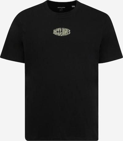 Jack & Jones Plus Tričko 'WORLDS' - čierna / biela, Produkt
