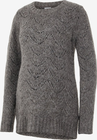 MAMALICIOUS Pullover in anthrazit: Frontalansicht