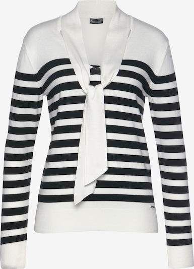 LAURA SCOTT Pullover in schwarz / weiß, Produktansicht