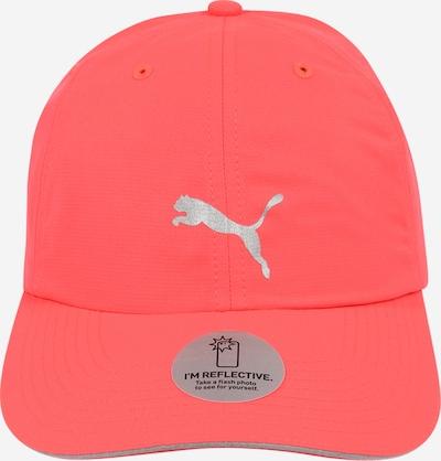 PUMA Sportcap  'Running III' in orange / silber, Produktansicht