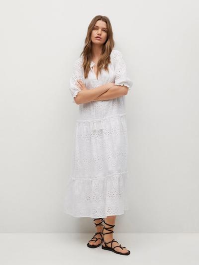 Rochie 'ISLAND' MANGO pe alb, Vizualizare model