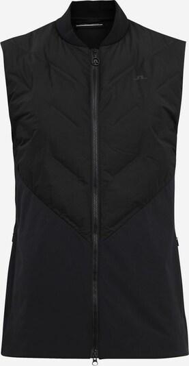 J.Lindeberg Sportweste 'Shield Hybrid' in schwarz, Produktansicht