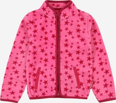 PLAYSHOES Fleecejacke in pink / dunkelpink, Produktansicht