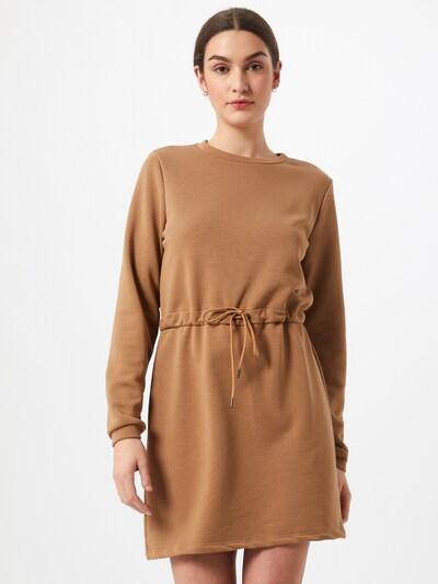 Noisy may Kleid 'Alisa' in braun, Modelansicht