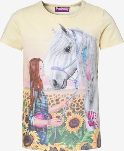 Miss Melody T-Shirt in hellgelb, Produktansicht