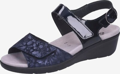 SEMLER Strap Sandals in Navy / Dark blue, Item view