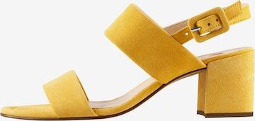 Högl Sandale in Gelb