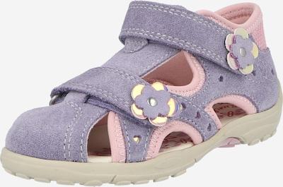 LURCHI Sandále 'MOMO' - svetložltá / levanduľová / svetloružová, Produkt