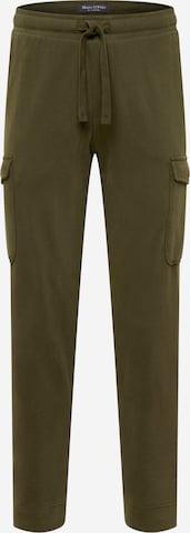 Marc O'Polo Klapptaskutega püksid, värv roheline