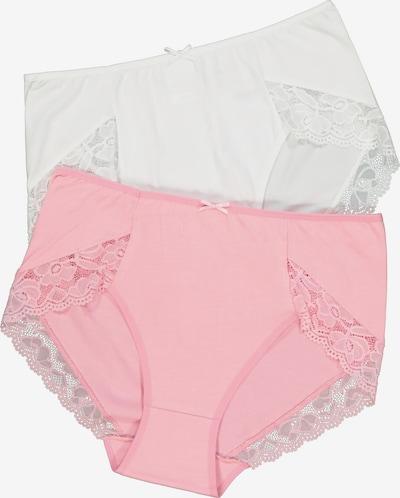 Ulla Popken Slip in pink / weiß, Produktansicht