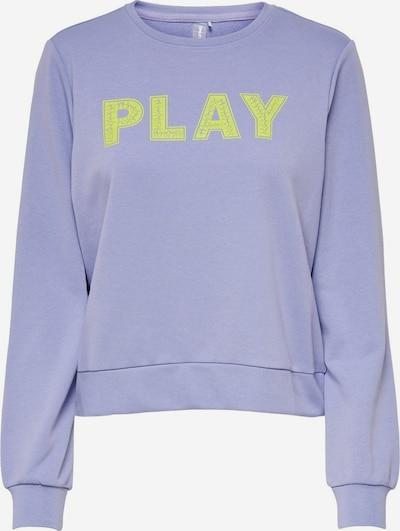 ONLY PLAY Sportief sweatshirt in de kleur Geel / Lila, Productweergave