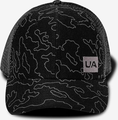 UNDER ARMOUR Cap 'Trucker Blitzing' in grau / schwarz, Produktansicht