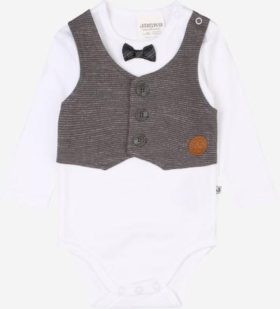 JACKY Dupačky/body - šedá / bílá, Produkt