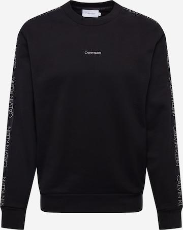 Calvin KleinSweater majica - crna boja