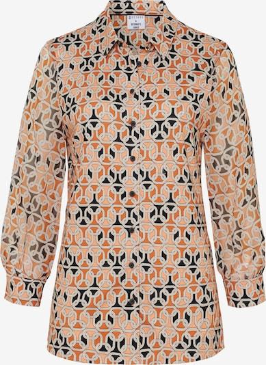 DESOTO Bluse in hellbraun / mischfarben, Produktansicht